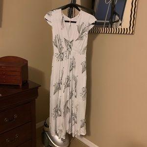 Free People midi length dress